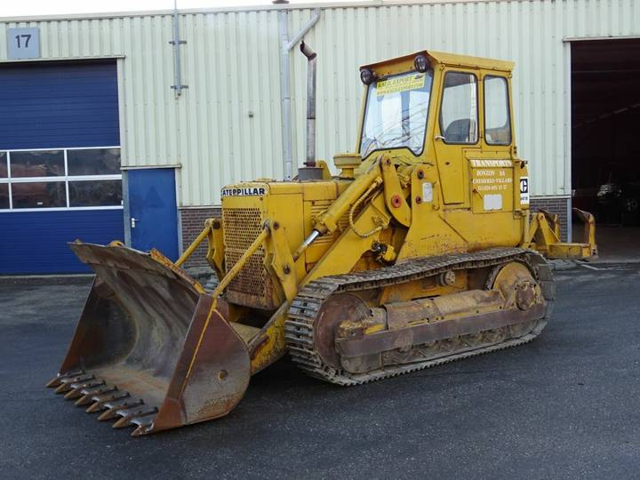 Caterpillar 941B Crawler Loader With Ripper Good Condition - 1980