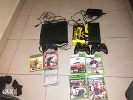 hy im selling an xbox 360 and a ps3