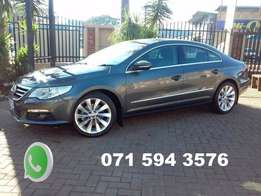 VW cc 2.0tsi auto with panoramic roof
