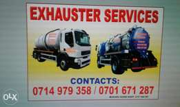 Exhauster services n clean water