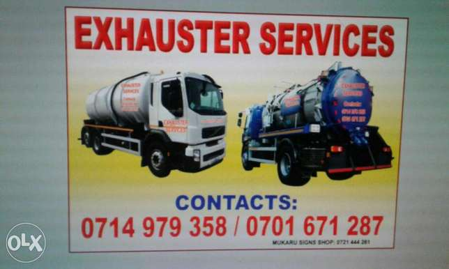 Exhauster services n clean water Nairobi CBD - image 1