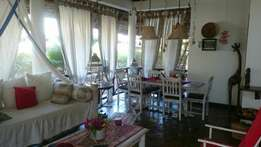 -Fully Furnished Villa ON SALE in Mambrui-Malindi. (2mins to the beach