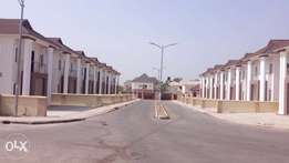 Carcass 4 bedroom terrace duplexes for sale in Flowergate estate, Apo