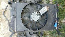 Peugeot 406 2.0 hdi radiator pack with fan