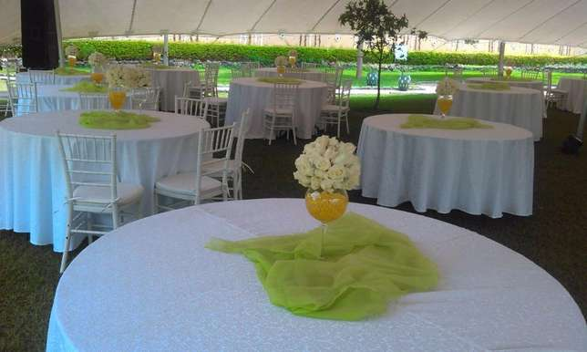 Tents,dressed chairs and tables and decor for hire Westlands - image 3