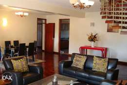 Fully furnished and serviced 4 bedroom apartment ensuite in Riverside
