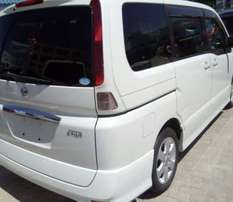 Nissan Serena for longterm hire