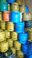 Clean and Well kept 6 kg gas cylinder's