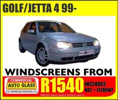 Golf / Jetta windscreen specials