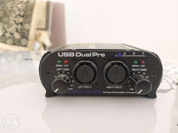 Audio interface and preamp