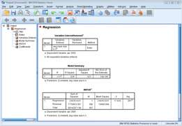 Data analysis using SPSS