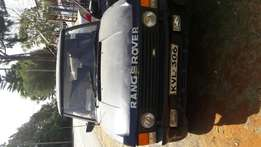 Classic Range Rover with Isuzu 2.8 engine and automatic gearbox