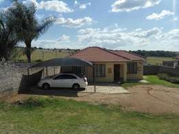 Property for sale in Cosmo city - big yard