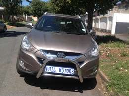 2010 Hyundai ix35 Limited 4x4 ,diesel, mileage 115000 for sale