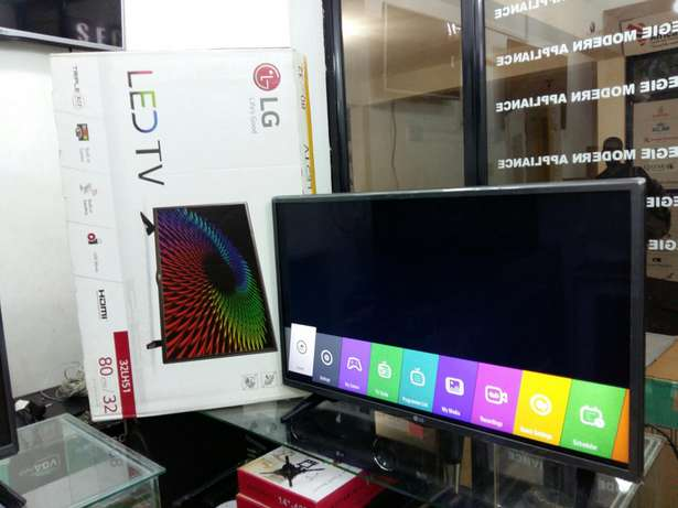 Brand new 2017 WEB OS Satellite & Digitalised 32 inch LG LED TV Kampala - image 1