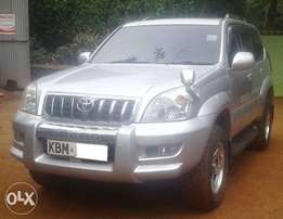 2004 Toyota L/C Prado, automatic 3.4L petrol, well maintained