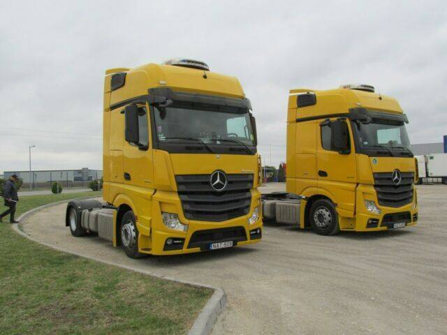 Mercedes-Benz 30 x  Actros 1845 LSNRL GigaSpace - 2015