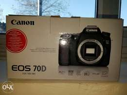 Canon 70D Used abroad