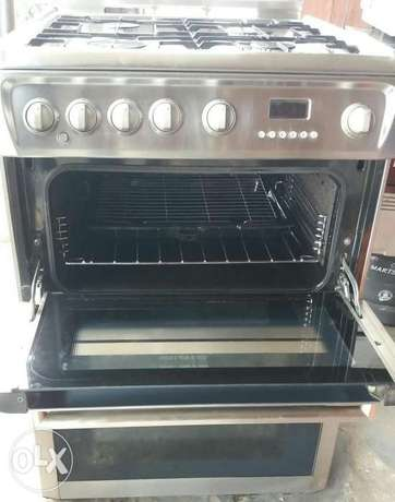 Hotpoint stainless gas cooker Surulere - image 6