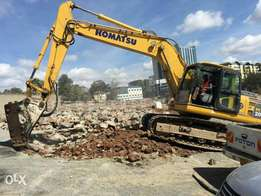Komatsu Crawler Excavator On Sale With Breaker And Bucket Options