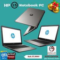 Brand New HP 15 NoteBook PC Core i3 4GB RAM 750GB HDD Radeon Graphics