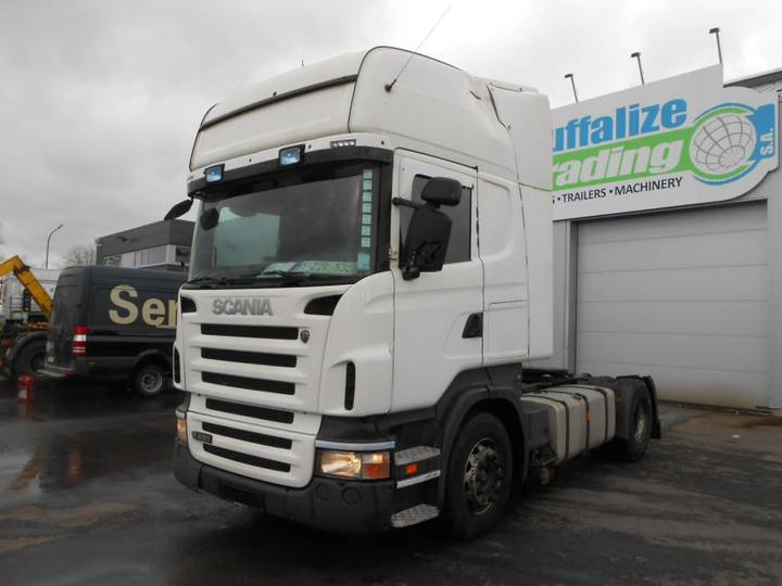 Scania R420 - opticruise clutch - topline - 2008