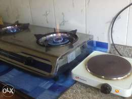 Thermocool Table Top Gas Cooker & Binatone Hotplate at Arab Rd, Kubwa