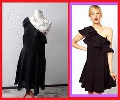 0c82f571b3 NOWA sukienka 44 XXL BONPRIX czarna elegancka na ślub wesele święta