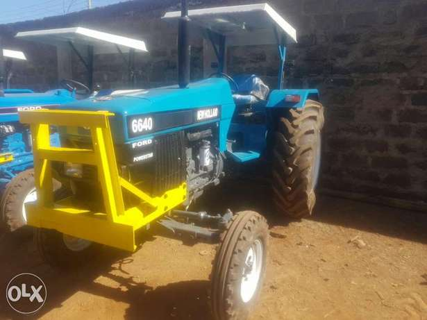 Tractor newholland 6640 powerstar Elgonview - image 5