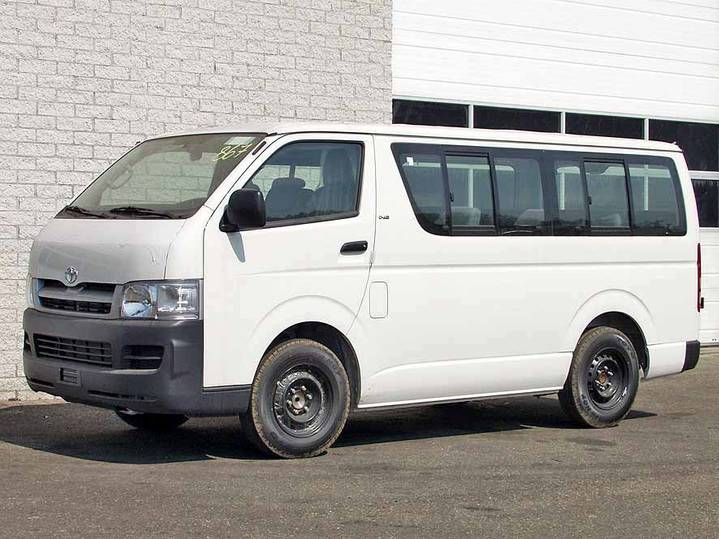 Toyota Hiace Std Roof (2 units)