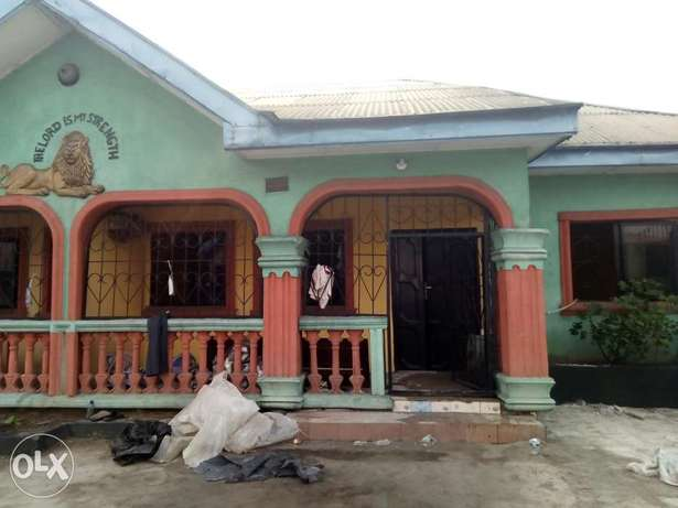 Two bedroom flat for rent Port Harcourt - image 1