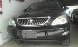 Toyota Harrier 2010 black color. We do hire purchase terms 1.7 deposit