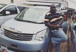 Sky Blue Clean Toyota Noah just Imported