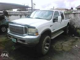A Ford F250 diesel engine V8 auto drive