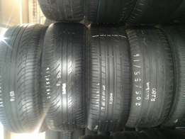205/55/16 second hand tyres