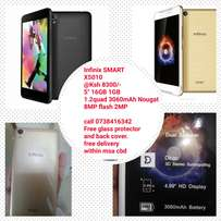 Infinix Smart x5010 with free glass and cover
