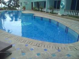 3 bed room furnished apartment in bamburi beach