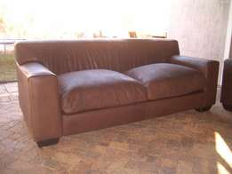 KARIBA CORICRAFT large 2 seater for sale full leather couch