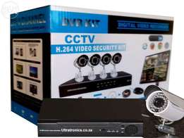 Unbelievable Special Price!! Complete 4 Channel D.I.Y CCTV Camera Kit!