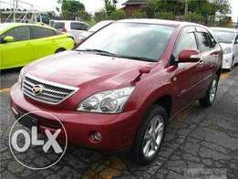 Toyota harrier 2011 model red, finance terms accepted