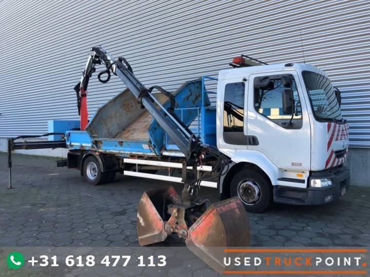 Renault Midlum 220 DCI / Palfinger 7 Tons / Remote / Crane / Tipper - 2003