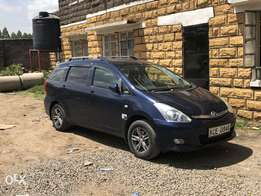 Toyota Wish active in Uber and Taxify