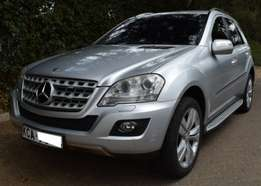Mercedes Benz ML KCA[7-speed automatic,Cruise Control,all wheel drive]