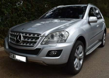 Mercedes Benz ML KCA[7-speed automatic,Cruise Control,all wheel drive] Karen - image 1