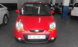 Chevrolet spark 1.3 red in color 2011 model hatshback 98000km R68000