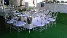 ottomans,wimbledons, chair,tiffany chairs,stretch tent,marquees,