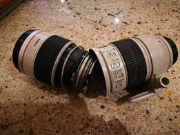 Spares: Canon EF 70-200mm lens