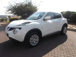 2015 White Nissan Juke 1.2 Acenta + Excellent Condition