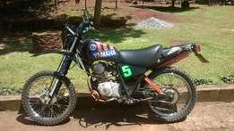 Yamaha AG200 Dirt bike, yr 2002 for sale