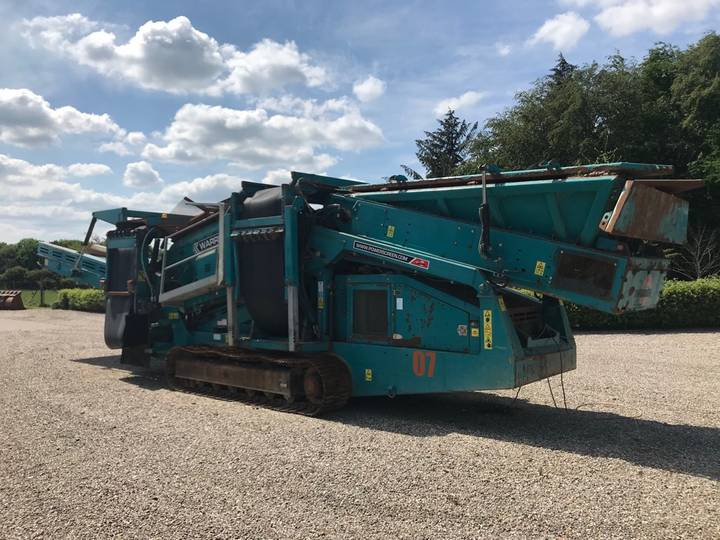 Powerscreen Warrior 1400 - 2012